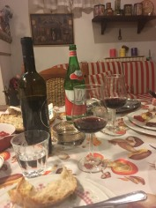 Real Italian meal!